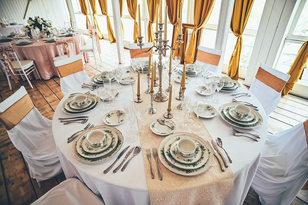 bird hajó esküvői díszítés